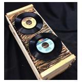 175 VTG. VINYL 45 RECORDS, DONNA SUMMER, ELTON