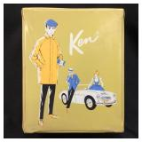 VINTAGE KEN CASE AND CLOTHES WITH  KEN DOLL