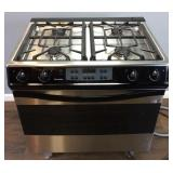 THERMADOR INDUSTRIAL PRO STYLE GAS RANGE OVEN,