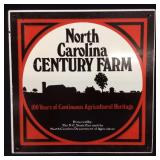 VINTAGE NORTH CAROLINA CENTURY FARM PLASTIC M