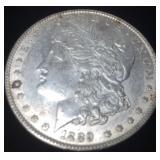 1889 SILVER MORGAN DOLLAR PHILLY MINT