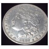 1887 SILVER MORGAN DOLLAR PHILLY MINT