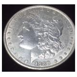 1889 SILVER MORGAN PHILLY MINT