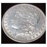 1889 SILVER MORGAN NEW ORLEANS MINT