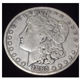 1885 SILVER MORGAN NEW ORLEANS MINT