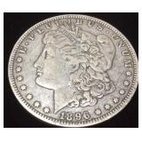 1896 SILVER MORGAN NEW ORLEANS MINT