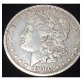 1900 SILVER MORGAN NEW ORLEANS MINT
