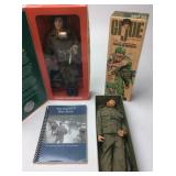 NIB-2 GI JOE LIMIOTED EDITION & SOLDIERS BLUE BOOK