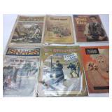 1900 & 1905 COMICS, WYATT EARP, COVERED WAGON