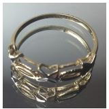 .55DWT YELLOW GOLD RING SIZE 7 1/4