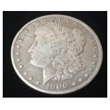 1900 MORGAN SILVER DOLLAR NEW ORLEANS MINT