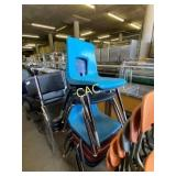 7pc  Classroom Chairs