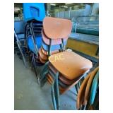 6pc Classroom Chairs
