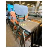 8pc Classroom Chairs