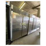 Traulsen Stainless Steel Freezer