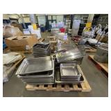 Pallet of Serving Trays