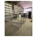 4pc Metal Shelving