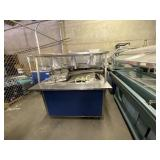 Vollrath Serving Cart w/Hot Plate/Cold