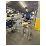 Stainless Rack & Cart on Wheels