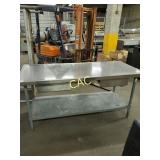 4pc Stainless Steel Tables