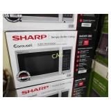 Sharp Countertop Microwave 0.9 cu. ft SMC0912BS