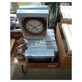 Lot of 8 NIB Indoor/Outdoor Clock/Thermometers