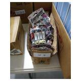 Box Lot of New 9V Energizer Batteries (Approx. 40)