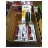 Box Lot of Electric Soldering Irons