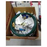 Box Lot of Metal Solder Wire and Drain Cut-offs