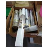 Box Lot of Window Tint and Liners