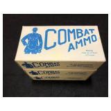Combat Ammo. 38spl 148gr wadcutter