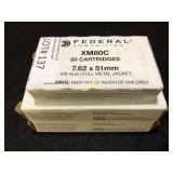 Federal 308 1-149gr FMJ & 2-150gr FMJ