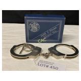 S&W Handcuffs w/2 Keys