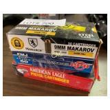 50rds per Box 9mm Ammunition