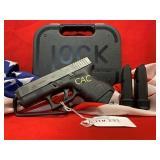 Glock 33 3rd Gen, 357 Pistol, ECB116US