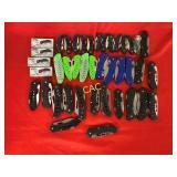 42pc Asst Folding Pocket Knives