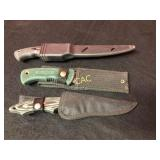 3pc Knives w/Sheaths