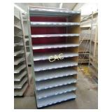 Stand Alone Metal Shelving Unit