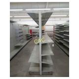 7 Sections of Metal Store Shelving (Two Sides)