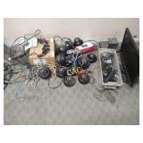 Lot of Stereo Equipment and Surveillance Cameras