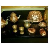 Copper Tea set and decor