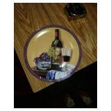 4 Wine plates