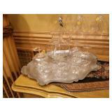 Tiffany glass set