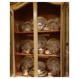 10 Lenox Place Settings, gorham glassware