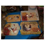Rooster  trays