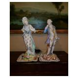 French Bisque figurines
