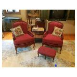 Louis XVI Bergere Chairs