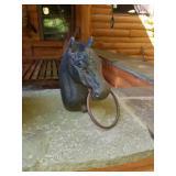 Iron horse ring