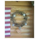 Tin wreath