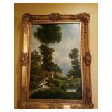 Bordignon Italian Oil painting